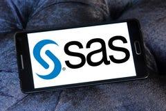 SAS software logo Royalty Free Stock Photo