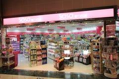 Sasa shoppar i Hong Kong Arkivbild
