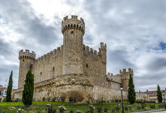 Sasamon Olmillos in the province of Burgos Royalty Free Stock Photography