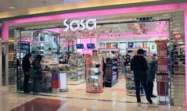 Sasawinkel in Hongkong Royalty-vrije Stock Foto