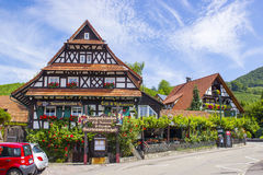 Sasbachwalden in Black Forest, Germany Stock Photos