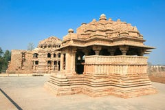 Sasbahu, Gwalior, Madhya Pradesh, India Royalty Free Stock Photo