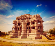 Sasbahu tempel i det Gwalior fortet Fotografering för Bildbyråer