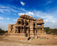 Sasbahu temple in Gwalior fort Royalty Free Stock Images