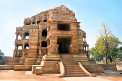 Sasbahu temples in Gwalior, Madhya Pradesh, India Royalty Free Stock Photography