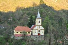 Sasca montana church Stock Photos