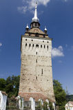 Saschiz fortified church Royalty Free Stock Photography