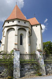 Saschiz fortified church Royalty Free Stock Photo