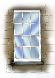 Sash window Stock Images