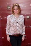 Sasha Alexander,John Varvatos Royalty Free Stock Photography