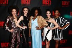 Sasha Hutchings, Kristin Piro, Vasthy Mompoint, Samantha Shafer, Dan'Yelle Williamson Stock Photo