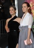 Sasha Pieterse & Jena Malone Fotografia Stock Libera da Diritti