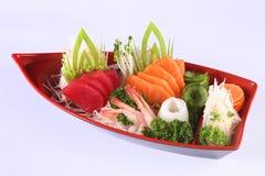 Sashimi, δημοφιλή ιαπωνικά τρόφιμα Στοκ φωτογραφία με δικαίωμα ελεύθερης χρήσης