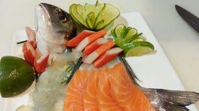 Sashimi ιαπωνικά Στοκ εικόνες με δικαίωμα ελεύθερης χρήσης