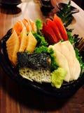 Sashimi, μίγμα freshy Στοκ Εικόνες