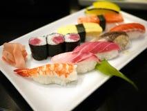 sashimi πιάτων Στοκ εικόνα με δικαίωμα ελεύθερης χρήσης