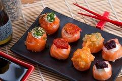sashimi ρόλων Στοκ Εικόνες
