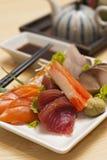 sashimi σούσια Στοκ φωτογραφία με δικαίωμα ελεύθερης χρήσης