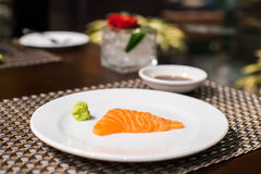 Sashimi σολομών στοκ φωτογραφίες με δικαίωμα ελεύθερης χρήσης