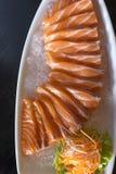 Sashimi σολομών Στοκ εικόνα με δικαίωμα ελεύθερης χρήσης