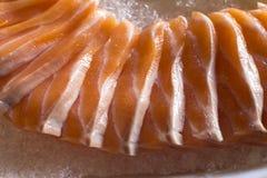 Sashimi σολομών Στοκ Φωτογραφίες