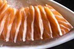 Sashimi σολομών Στοκ εικόνες με δικαίωμα ελεύθερης χρήσης
