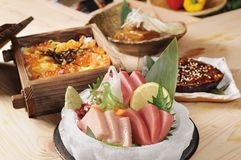 Sashimi foto de archivo libre de regalías