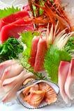 Sashimi. Japanness fresh seafood name Sashimi stock image