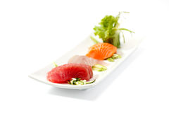 Sashimi imagem de stock royalty free