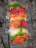 Sashimi Stockbild