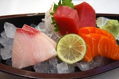 Sashimi Fotos de Stock Royalty Free