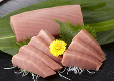 Sashimi. (Japanese traditional food) is slice of fresh raw fish stock photos