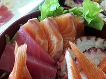 Sashimi Imágenes de archivo libres de regalías