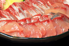 Sashimi of Amberjack Royalty Free Stock Image