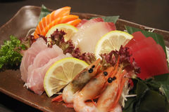 Sashimi arrangement Royalty Free Stock Photo