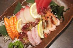 Sashimi arrangement Stock Photos