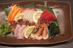 Sashimi arrangement Stock Photography