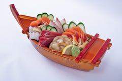 Sashimi Assorted Imagem de Stock Royalty Free