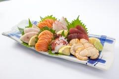 Sashimi Assorted Fotografia de Stock Royalty Free