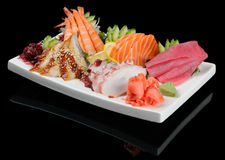 Sashimi assortment Royalty Free Stock Image