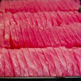 Sashimi background - Japanese sushi Stock Image