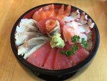 Sashimi bento royalty free stock image
