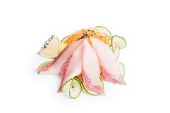 Sashimi con il salmone fotografia stock libera da diritti