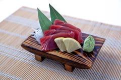 Sashimi d'Akami (thon) Photo stock