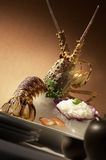 Sashimi da lagosta imagem de stock