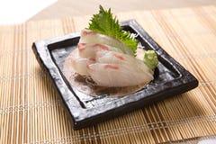 Sashimi da TAI (sargo) Fotos de Stock