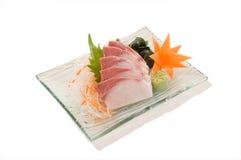 Sashimi de Hamachi Fotos de archivo libres de regalías