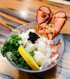 Sashimi de homard Image libre de droits