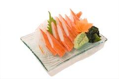 Sashimi de Kani Photographie stock