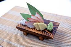 Sashimi de Kanpachi (séricole) Image stock